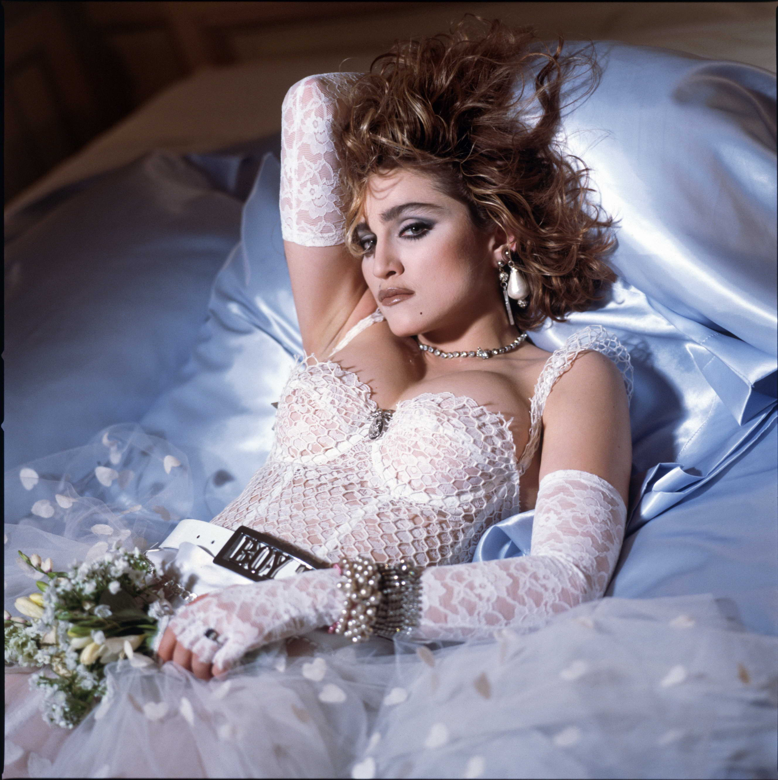 Madonna like a virgin album cover session by meisel 1984 01 jpg