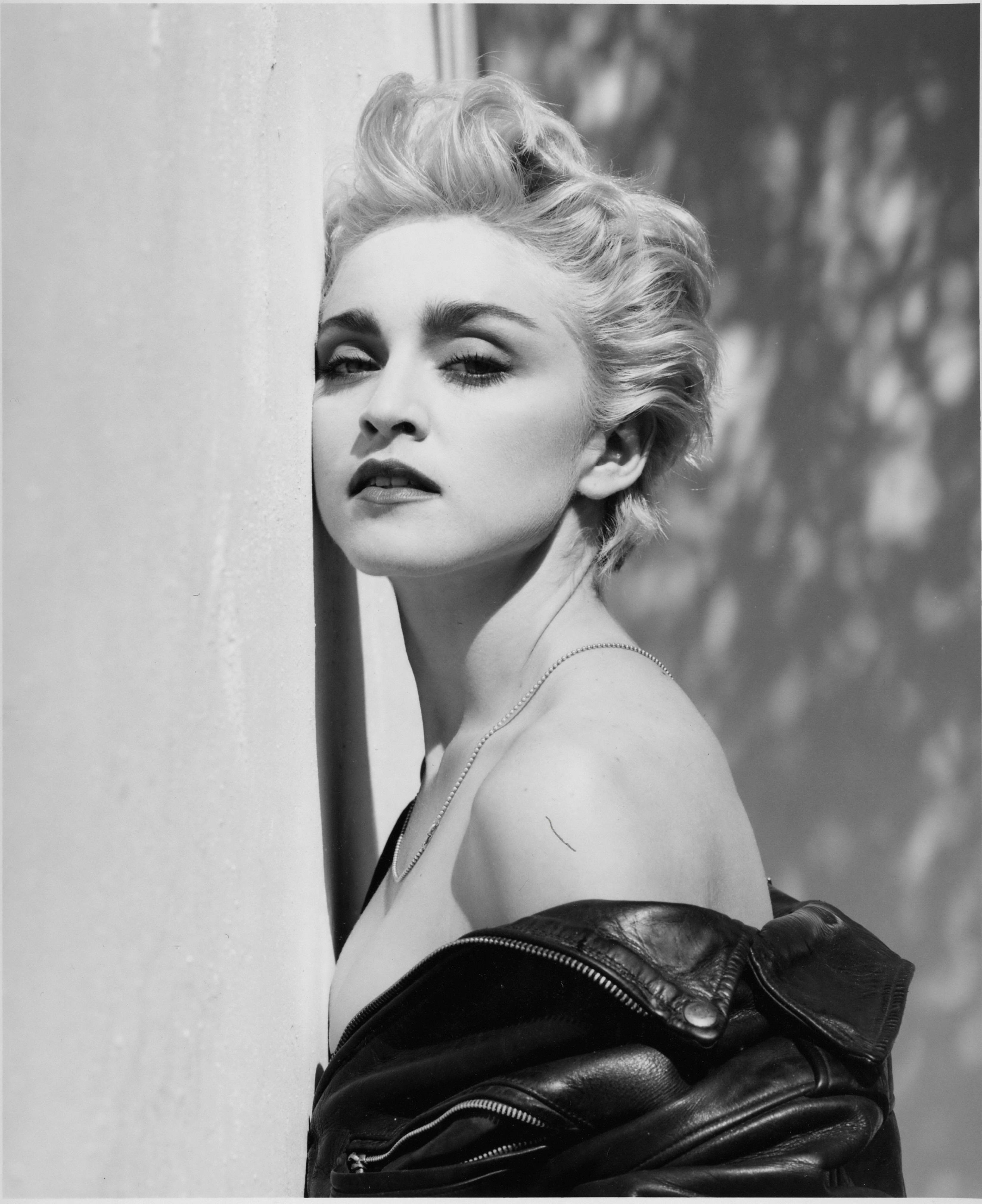 1986 madonna by herb ritts true blue session