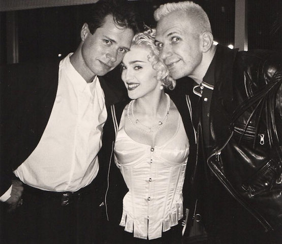 Paterson-with-Madonna-and-Gaultier-courtesy-Paterson